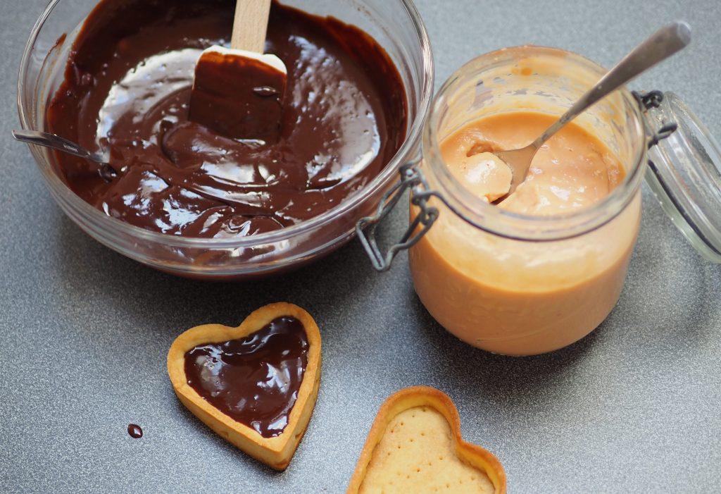 tartelette chocolat orange sanguine