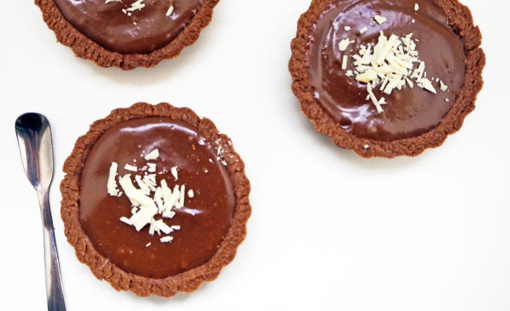 Tartelettes tout chocolat façon kinder