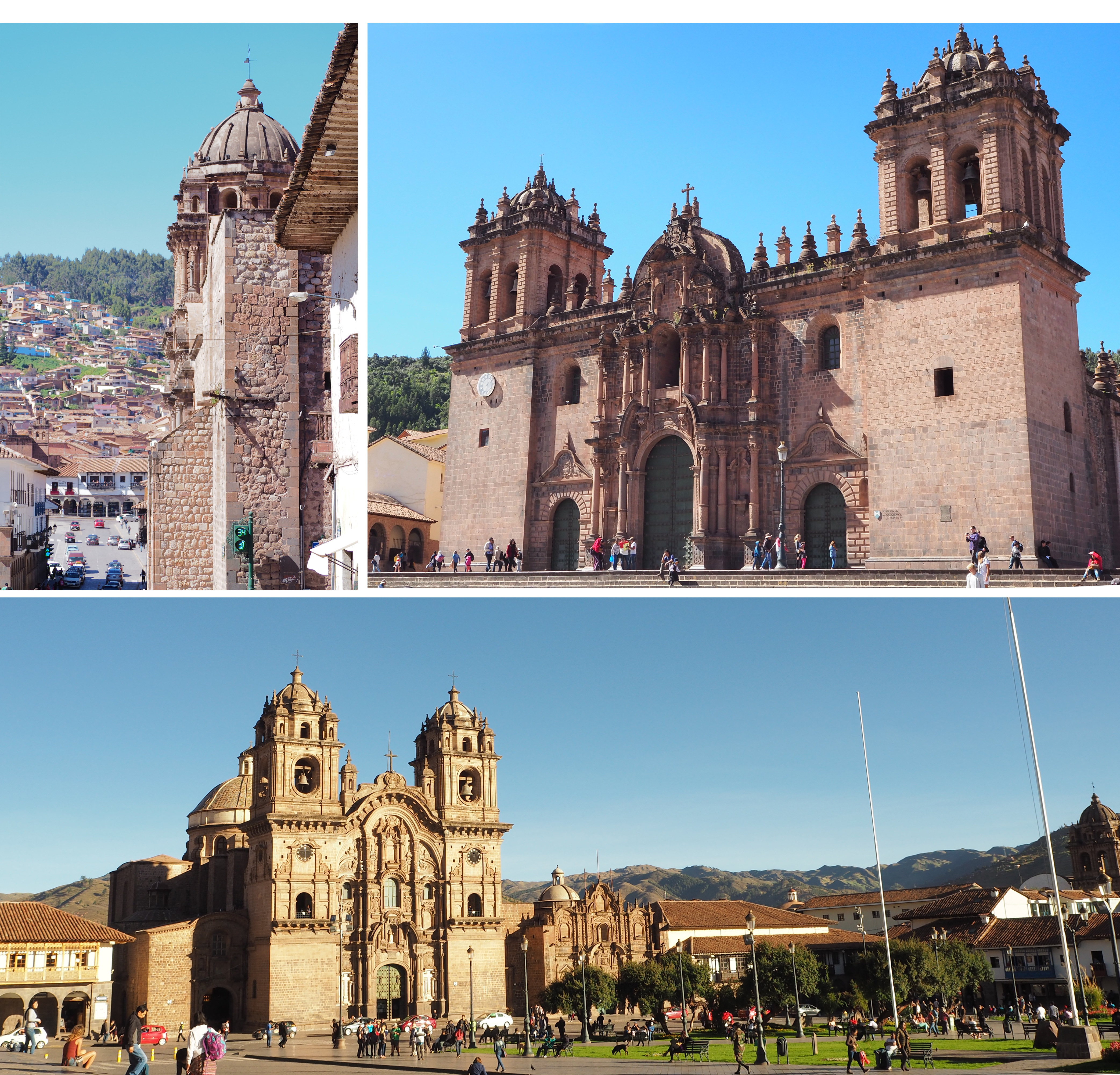 Cusco - plazza armas