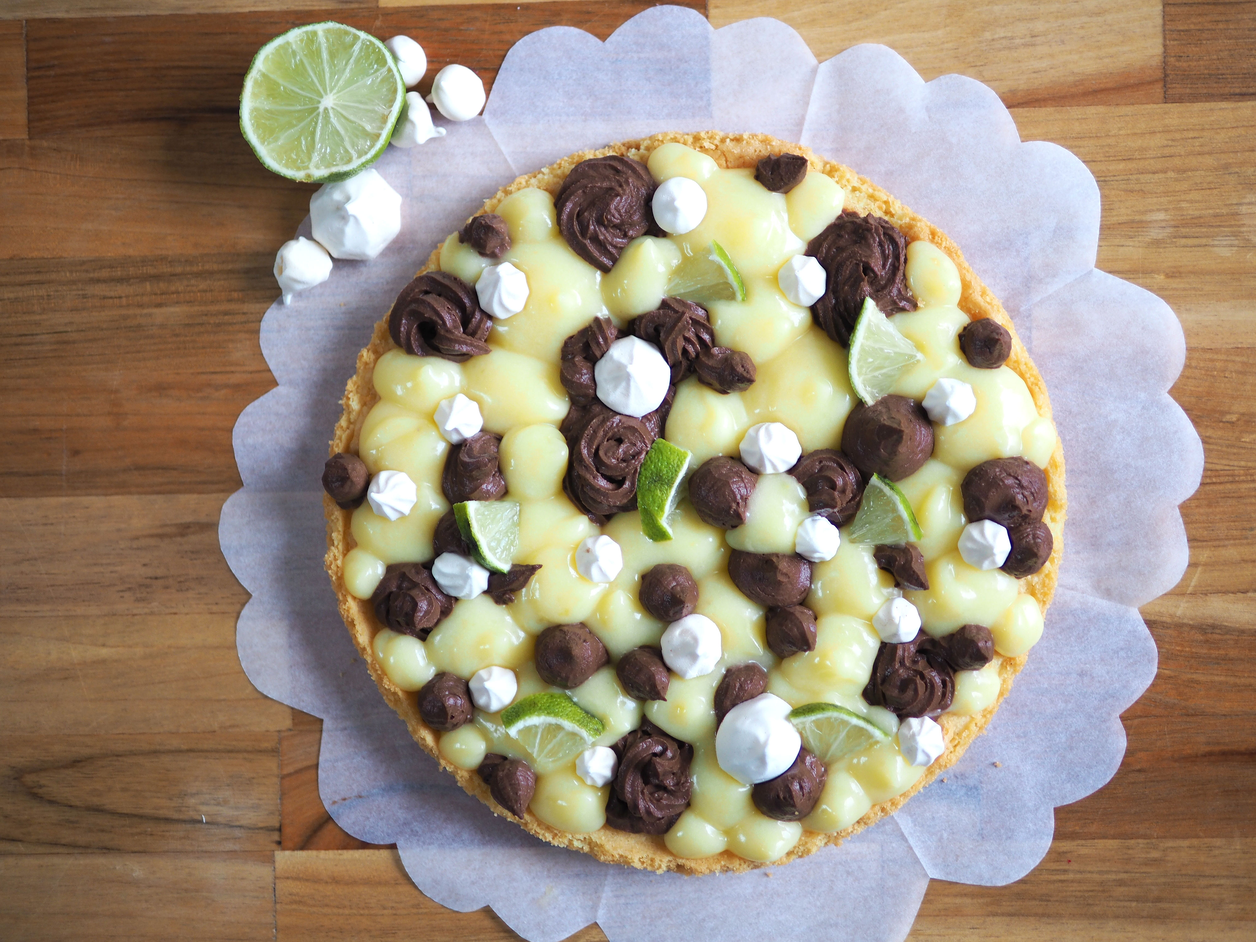 tarte fantastik citron chocolat