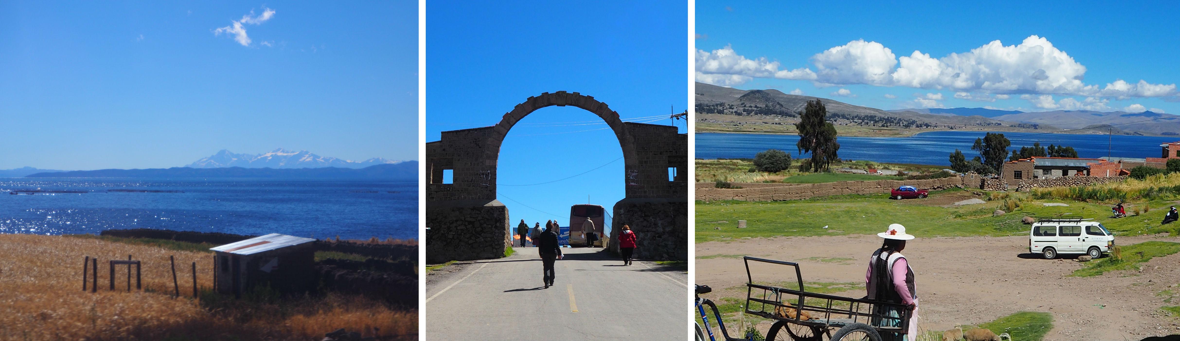 lac titicaca ilsa del sol puno