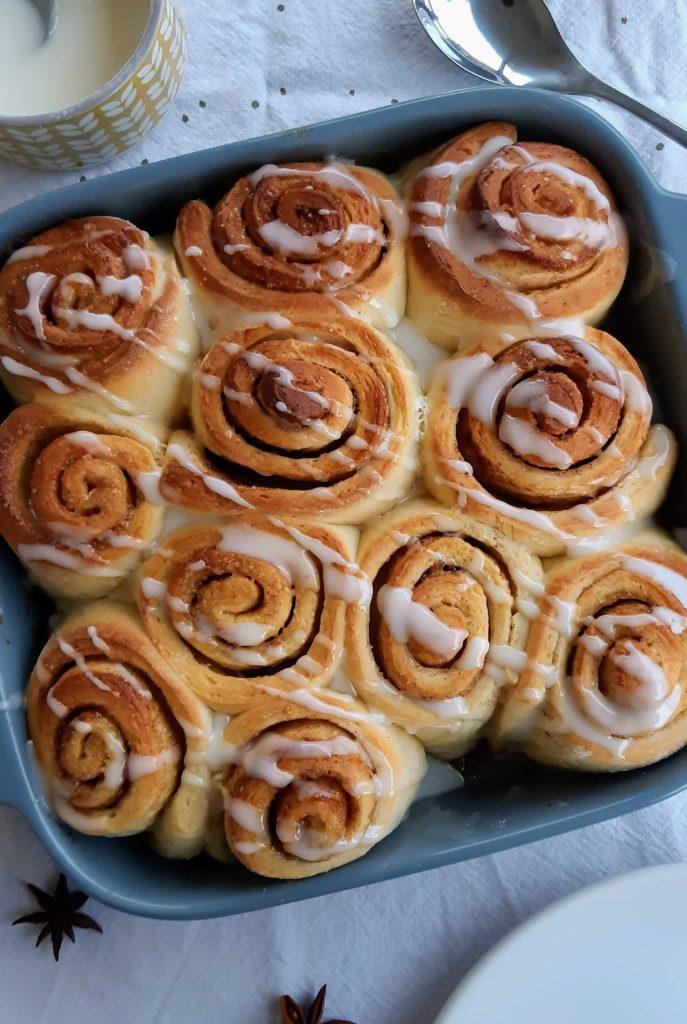 recette cinnamon rolls