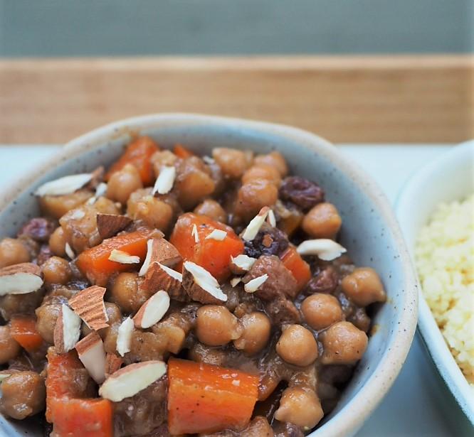 recette tajine vegan légumes