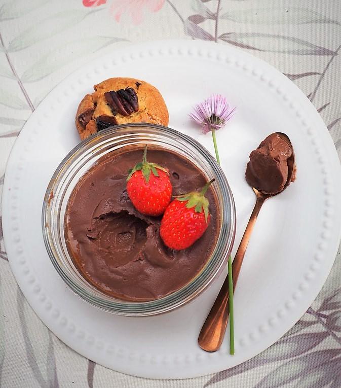 recette creme vegan chocolat